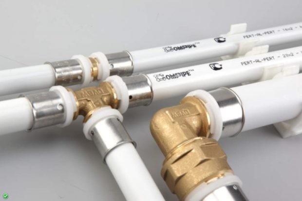 Металопластикові труби для опалення